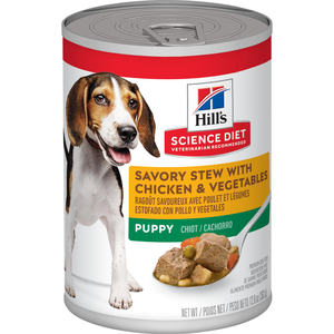 Hill's Science Diet Puppy Savory Stew With Chicken & Vegetables