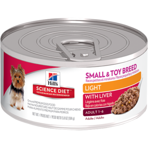 Hill's Science Diet Small & Toy Adult Light With Liver