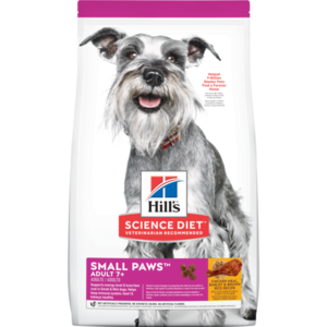 Hill's Science Diet Small & Toy Breed Adult 7+ Chicken Meal, Rice & Barley Recipe