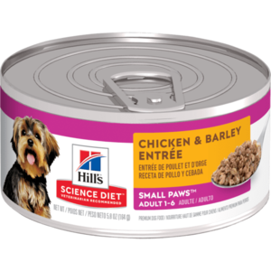 Hill's Science Diet Small & Toy Breed Adult Chicken & Barley Entree