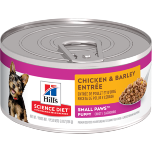 Hill's Science Diet Small & Toy Breed Puppy Chicken & Barley Entree