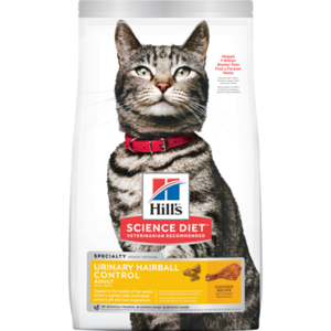 Hill's Science Diet Urinary Hairball Control Adult Chicken Recipe