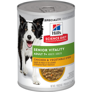 Hill's Science Diet Youthful Vitality Adult 7+ Chicken & Vegetable Stew