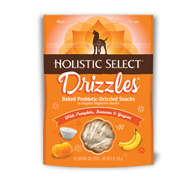 Holistic Select Drizzles With Pumpkin, Banana and Yogurt
