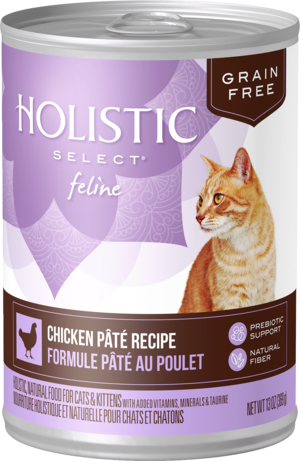Holistic Select Grain Free Canned Chicken Pate Recipe