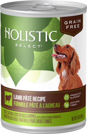 Holistic Select Grain Free Canned Lamb Pate Recipe