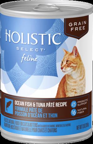 Holistic Select Grain Free Canned Ocean Fish & Tuna Pate Recipe