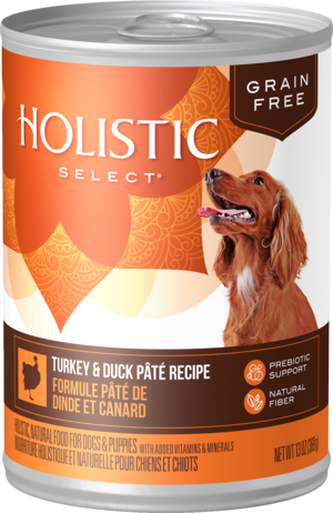 Holistic Select Grain Free Canned Turkey & Duck Pate Recipe