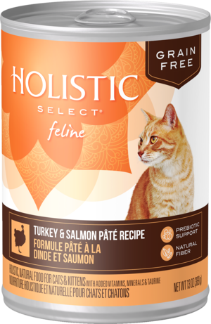 Holistic Select Grain Free Canned Turkey & Salmon Pate Recipe