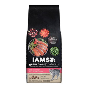 Iams Grain Free Naturals Chicken + Salmon Recipe