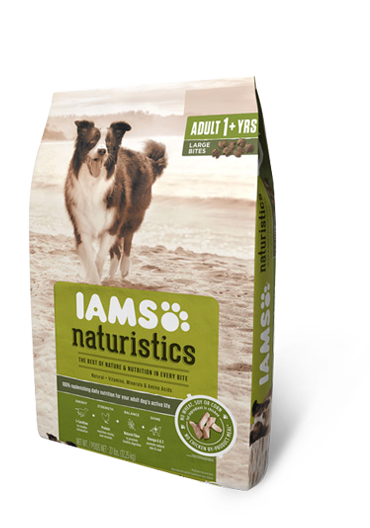 Iams Naturistics Adult Large Bite Dry Dog Food Review Rating