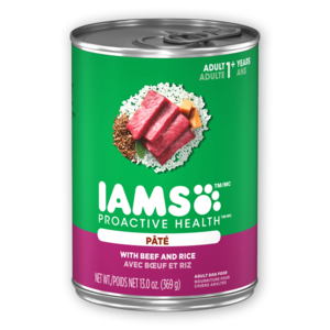 Iams Proactive Health Pate With Beef & Rice