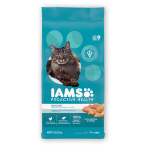 Iams Proactive Health Indoor Weight & Hairball Care For Adult Cats