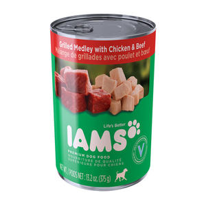 Iams Proactive Health Grilled Medley With Chicken & Beef