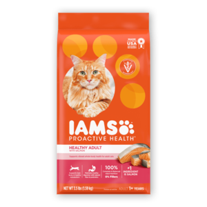 Iams Proactive Health Healthy Adult With Salmon & Tuna