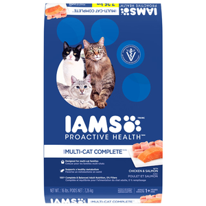 Iams Proactive Health Multi-Cat Complete With Chicken & Salmon