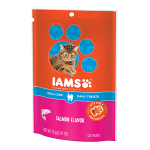 Iams Proactive Health Oral Care Daily Treats Salmon Flavor