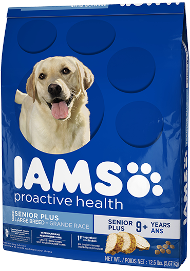 Iams Proactive Health Senior Plus Large Breed