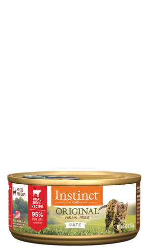 Instinct Original Canned Real Beef Formula
