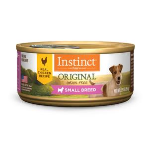 Instinct Original Canned Small Breed Real Chicken Recipe