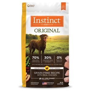 Instinct Original Grain-Free Recipe With Real Chicken