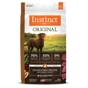 Instinct Original Grain-Free Recipe With Real Duck