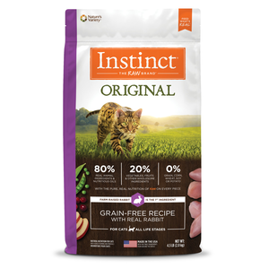 Instinct Original Grain-Free Recipe With Real Rabbit
