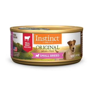 Instinct Original Canned Small Breed Real Beef Recipe