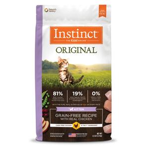 Instinct Original Grain-Free Recipe With Real Chicken For Kittens