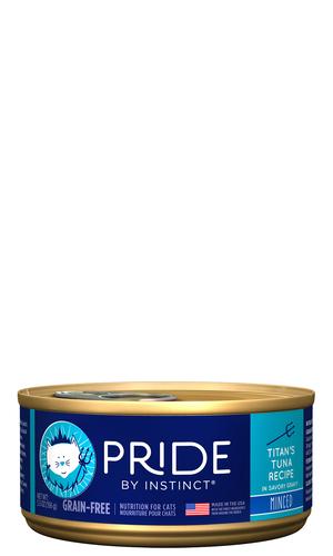 Instinct Pride Minced Titan's Tuna Recipe