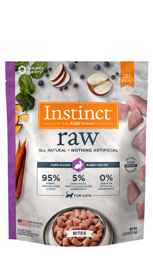 Instinct Raw Bites Rabbit Recipe
