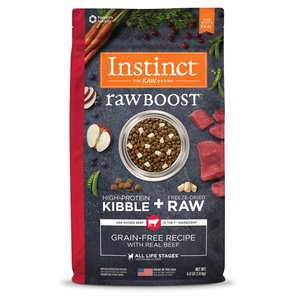 Instinct Raw Boost Grain-Free Recipe With Real Beef