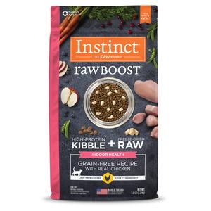 Instinct Raw Boost Indoor Health Grain-Free Recipe With Real Chicken