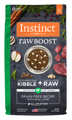 Instinct Raw Boost Grain-Free Recipe With Real Lamb