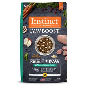 Instinct Raw Boost Grain-Free Recipe With Real Chicken For Large Breed Puppies