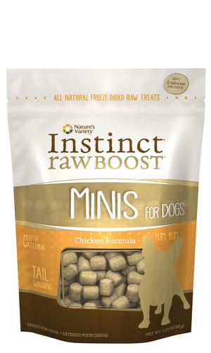 Instinct Raw Boost Minis Chicken Formula