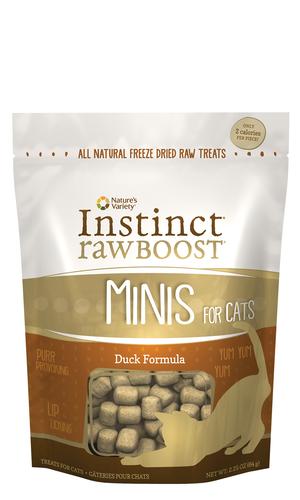 Instinct Raw Boost Minis Duck Formula