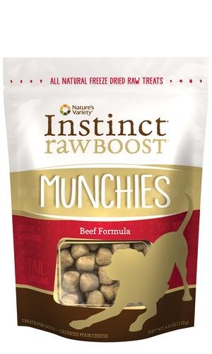 Instinct Raw Boost Munchies Beef Formula