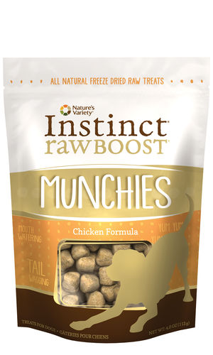 Instinct Raw Boost Munchies Chicken Formula