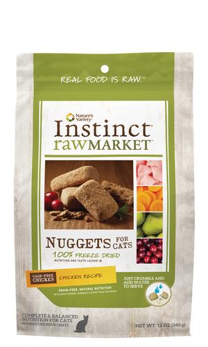 Instinct Raw Market Nuggets Chicken Recipe