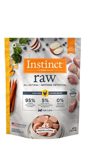 Instinct Raw Medallions Chicken Recipe