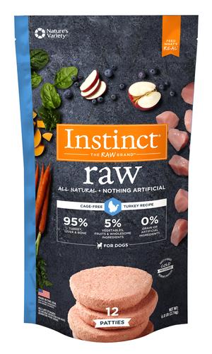 Instinct Raw Patties Turkey Recipe