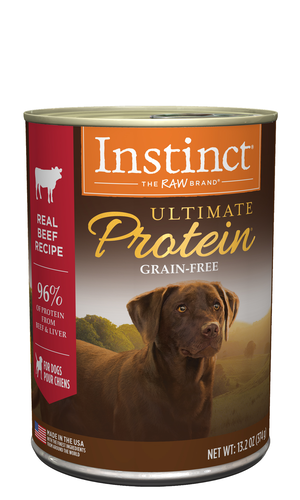 Instinct Ultimate Protein Real Beef Recipe