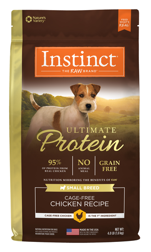 Instinct Ultimate Protein Small Breed Cage-Free Chicken Recipe