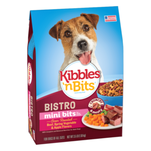 Kibbles 'n Bits Chef's Choice Bistro Mini Bits Small Breed Oven Roasted Beef Flavor