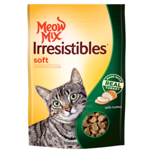 Meow Mix Irresistibles Soft With Turkey