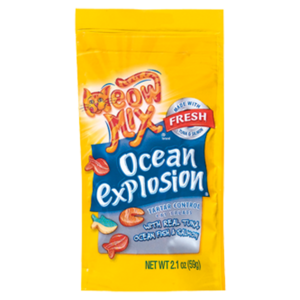 Meow Mix Ocean Explosion With Real Tuna, Ocean Fish & Salmon