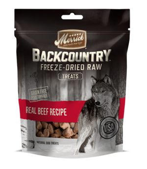 Merrick Backcountry Freeze-Dried Raw Real Beef Recipe Treats
