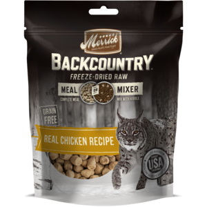 Merrick Backcountry Freeze-Dried Raw Real Chicken Recipe Meal Or Mixer
