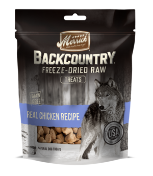 Merrick Backcountry Freeze-Dried Raw Real Chicken Recipe Treats